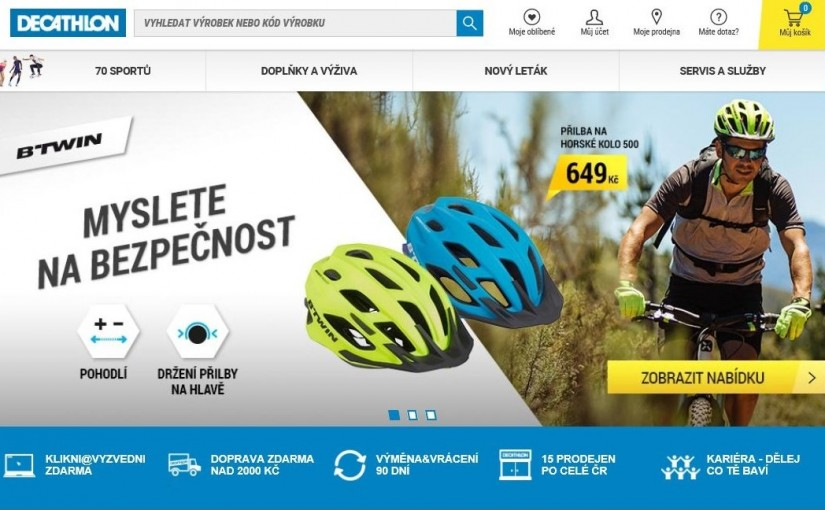 TZ VIVnetworks - Decathlon spustil affiliate