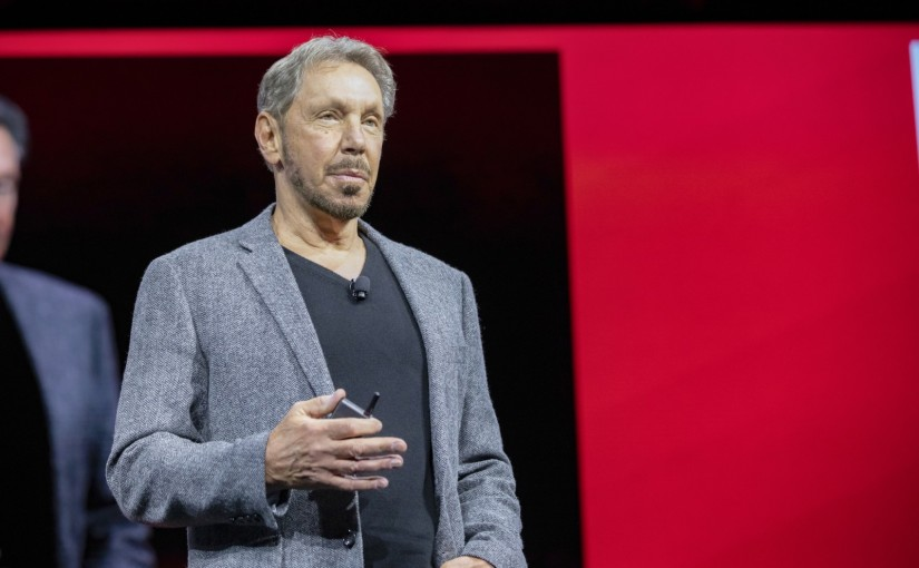 Oracle OpenWorld 2018 Larry Ellison